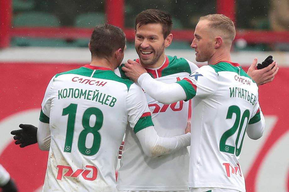 Александр Коломойцев, Фёдор Смолов и Владислав Игнатьев