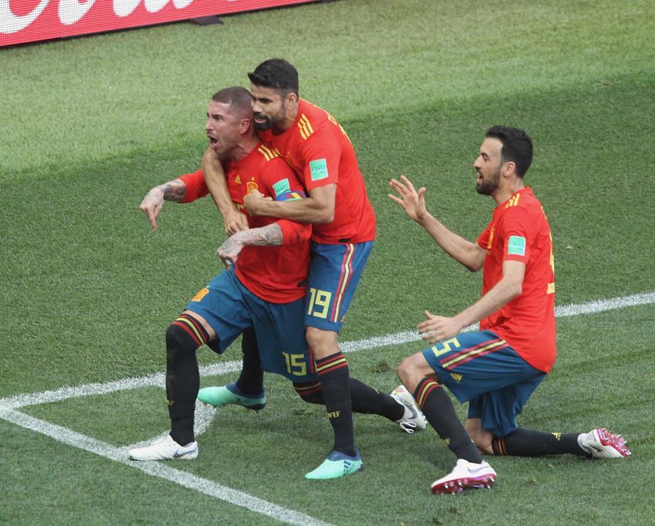 ЧМ-2018. Испания — Россия. Испанцы открывают счёт в матче