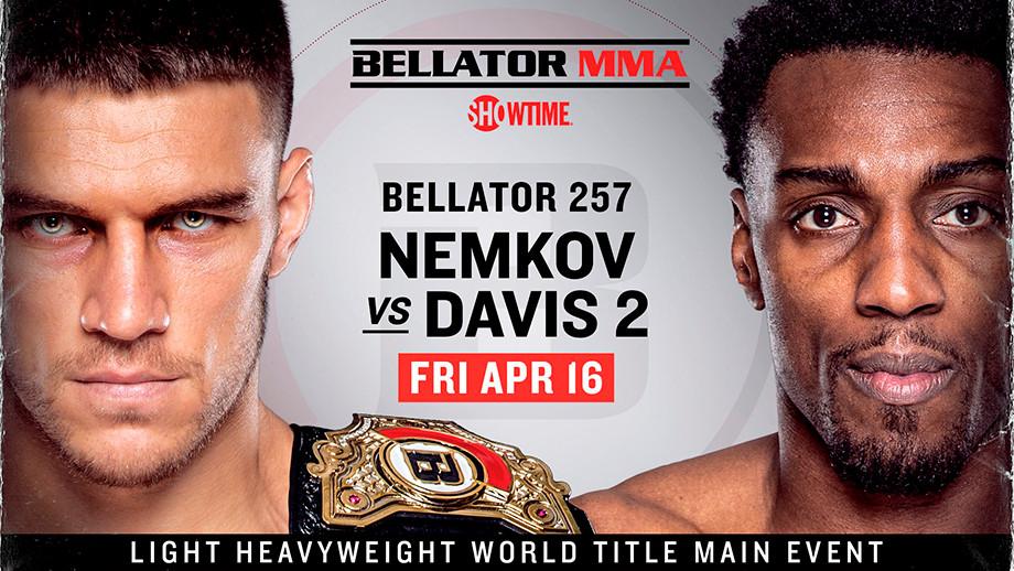 Bellator возвращается. Задача Немкова – убрать ветеранов UFC и забрать $ 1 млн