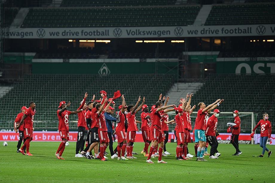 «Бавария» — чемпион! Концовка чемпионата стала для мюнхенцев лёгкой прогулкой