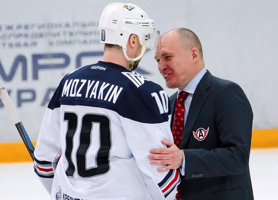 Сергей Мозякин и Андрей Разин