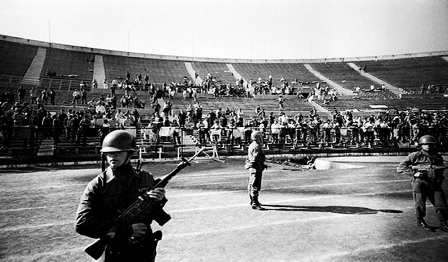 «Насьонал» — один из самых больших концлагерей в стране во время переворота