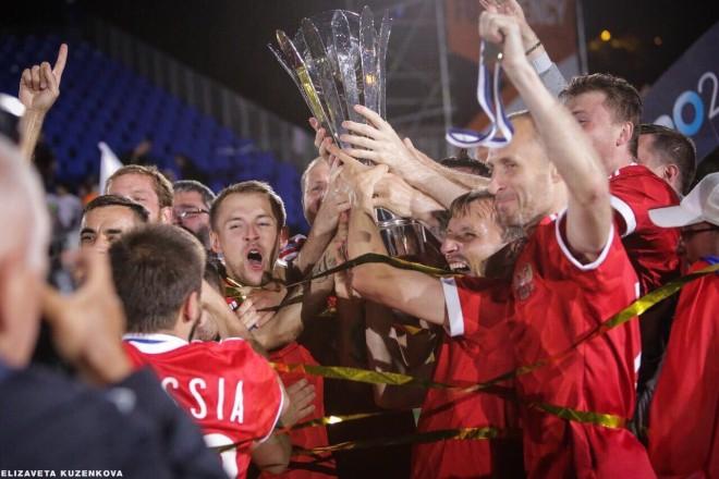 Сборная России стала чемпионом Европы по футболу 6х6
