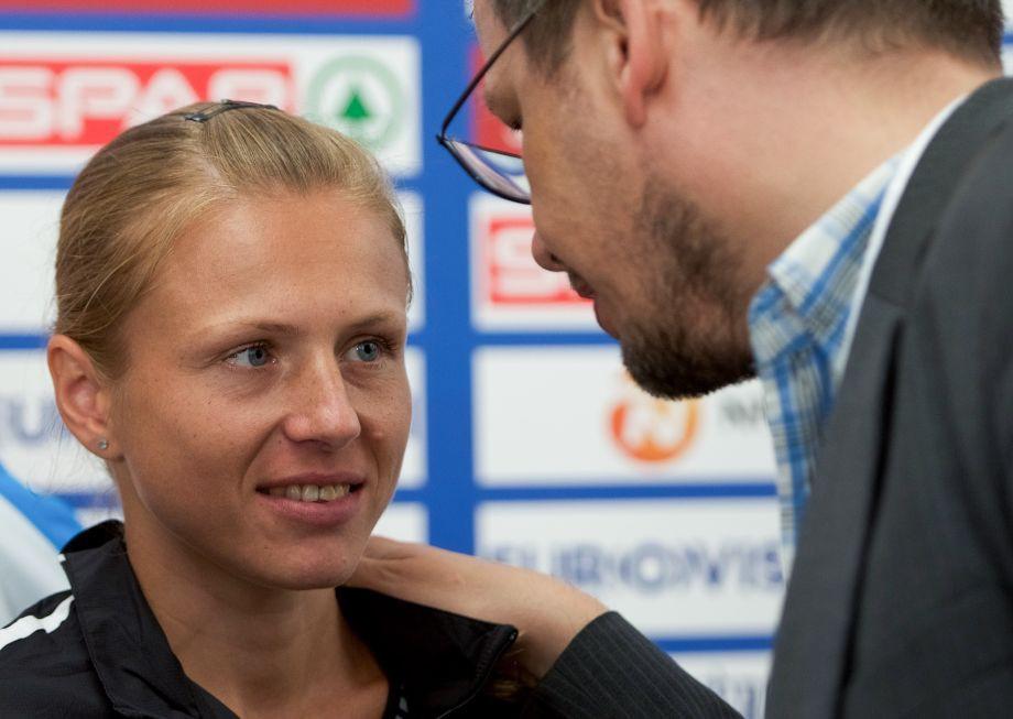 Юлия Степанова и Хайо Зеппельт
