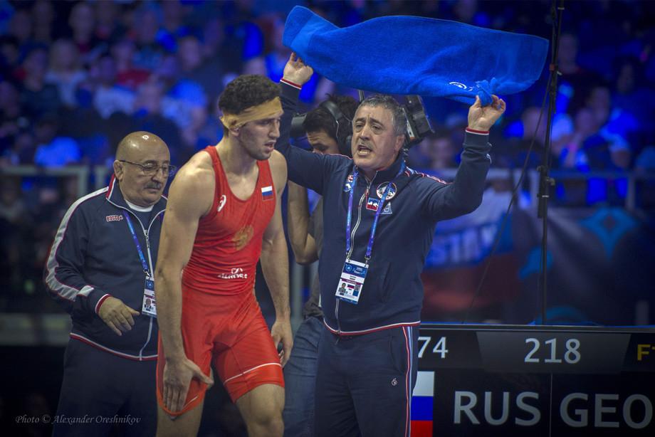 Заурбек Сидаков и Арсен Фадзаев