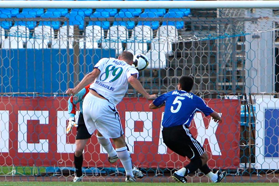 Ян Коллер дебютировал за «Крылья» в гостевом матче против «Шинника»