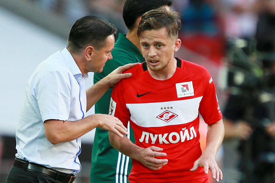 Дмитрий Аленичев и Джано Ананидзе