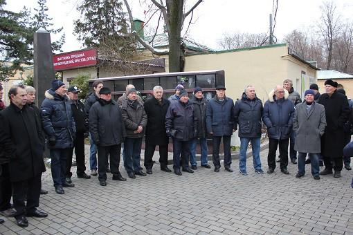 Ветераны московского «Динамо» провели митинг у мемориала Аркадия Чернышёва