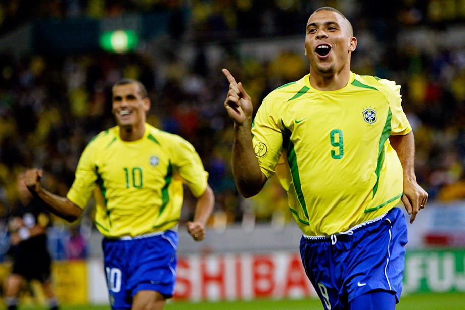 Роналдо в сборной Бразилии
