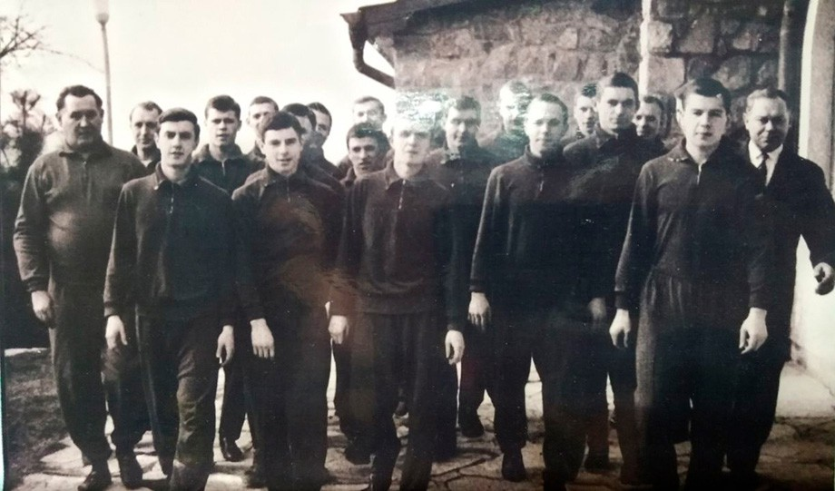 1965 год, молодёжная команда ЦСКА во время турне по Югославии