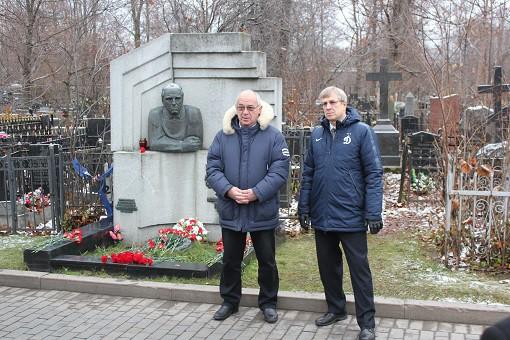 Ветераны московского «Динамо» провели митинг у мемориала Чернышёва