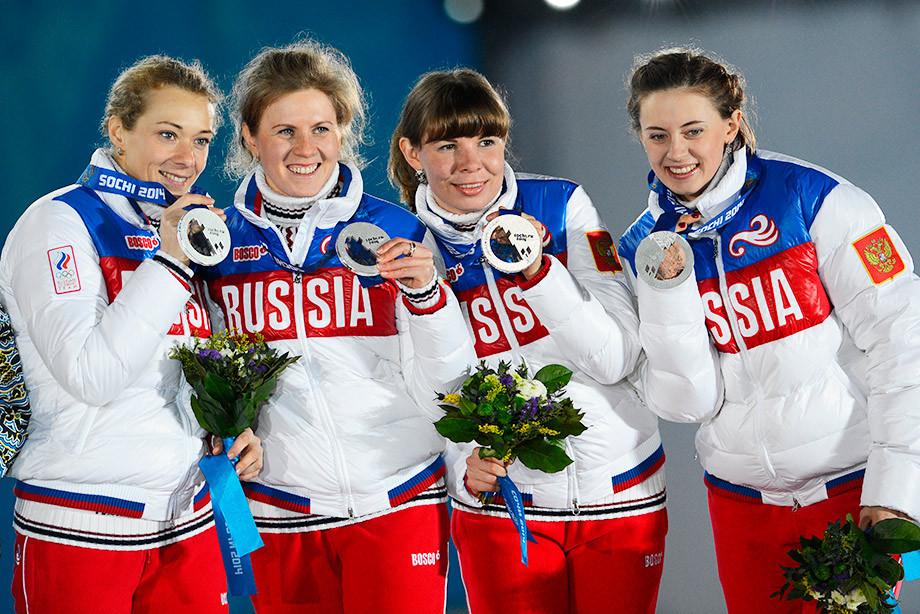 Российская биатлонистка Ольга Зайцева объяснила высокий уровень соли в допинг-пробе в Сочи