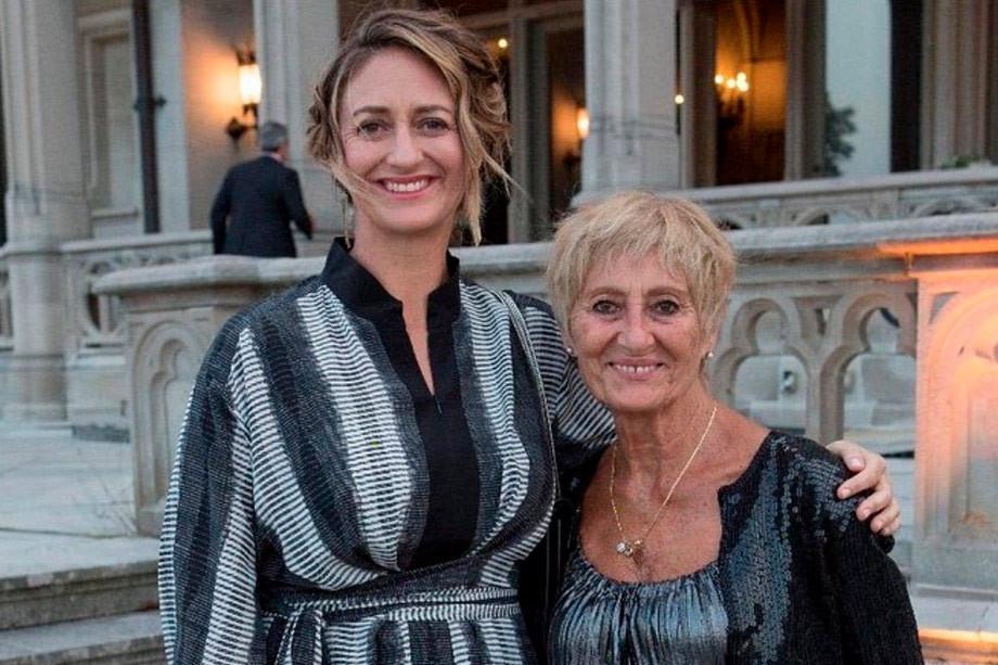 Мари Пирс с мамой