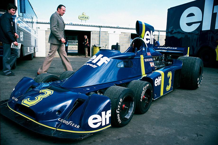 Уникальный шестиколёсный болид Формулы-1: смелая затея, которая принесла победу
