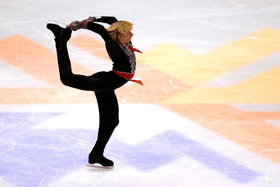 Евгений Плющенко на Олимпиаде в Солт-Лейк-Сити