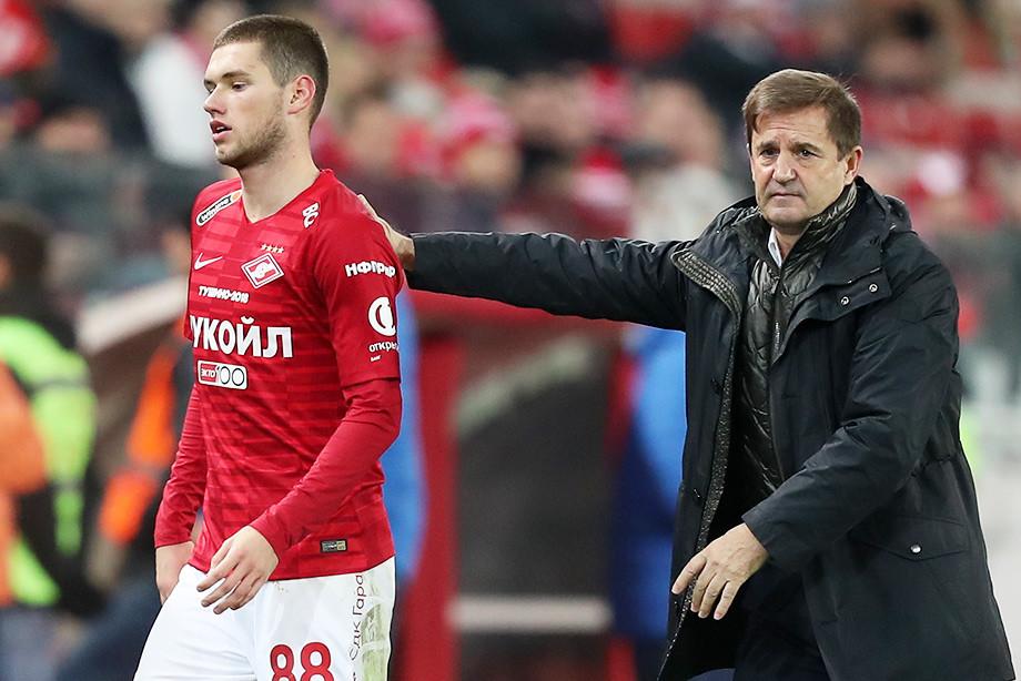 Попов вернулся в «Спартак». Газизову готовят замену?