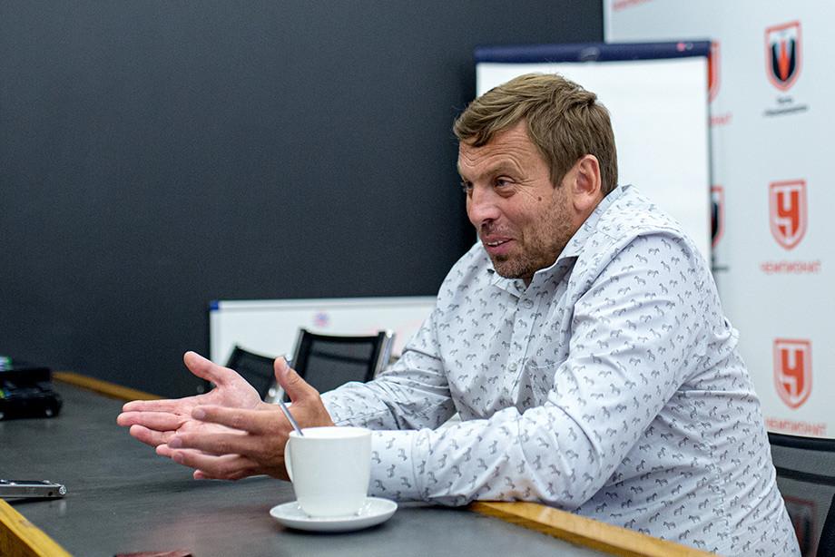Александр Егоров в гостях у «Чемпионата»