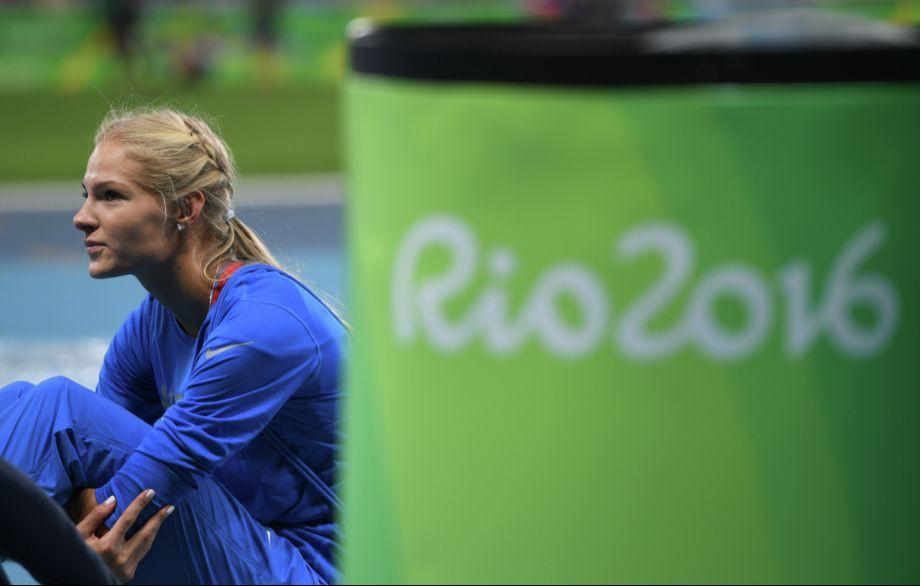 Дарья Клишина на Олимпиаде-2016