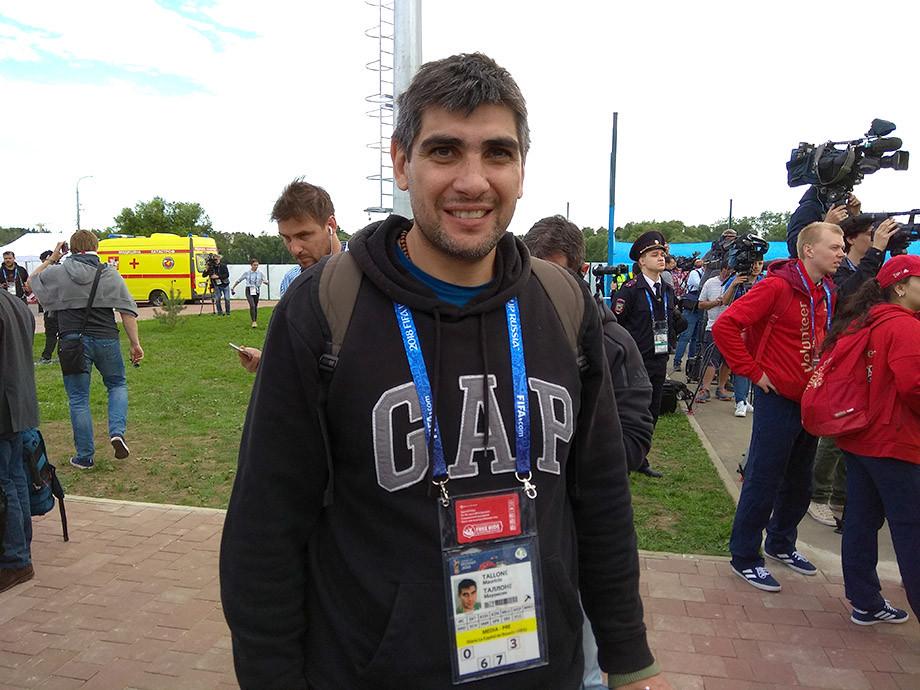 Маурисио Таллоне (Diario de capital de Rosario, Аргентина)