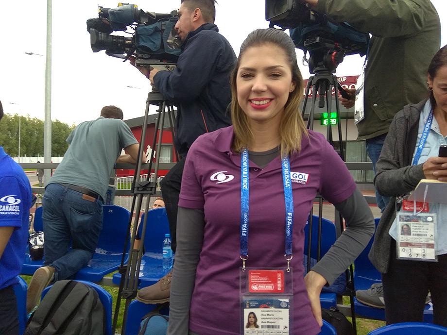 Ана Мария Наваррете Кастро (TV Caracol, Колумбия)