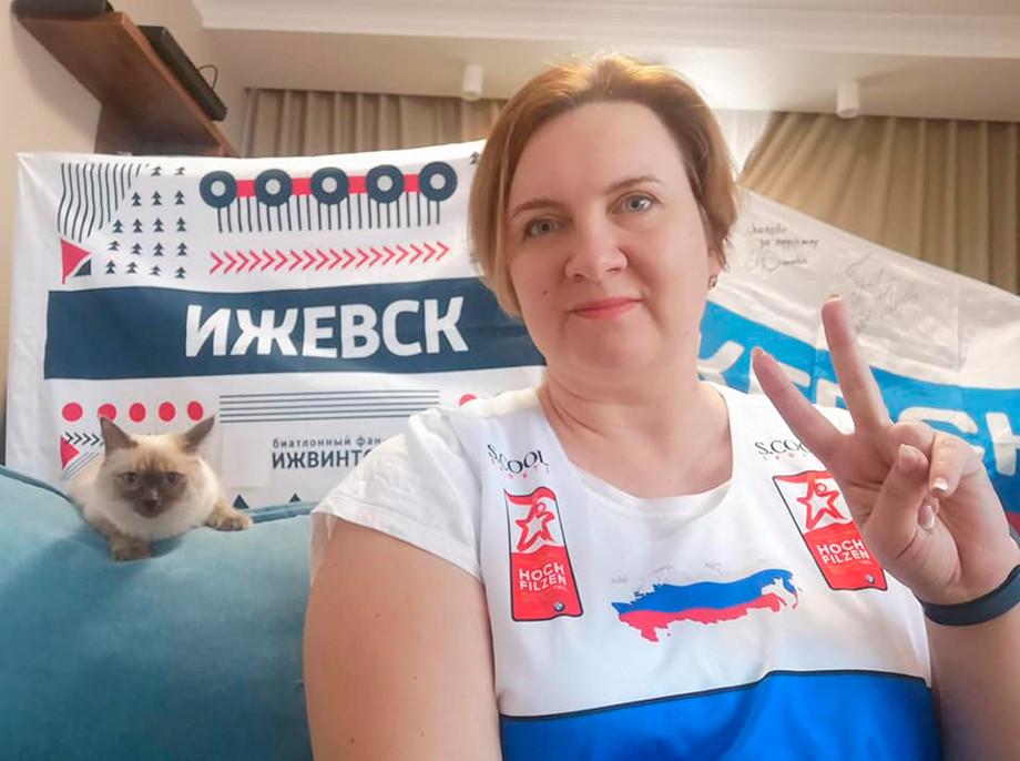 Российским болельщикам запретили использовать цвета флага на чемпионате мира-2021