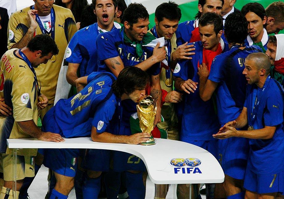 В 2006 году Пирло стал одним из триумфаторов чемпионата мира