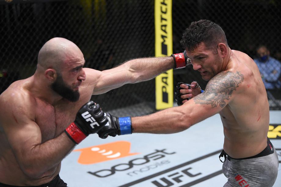 Омари Ахмедов, эксклюзивное интервью перед UFC Fight Night 16 января 2021