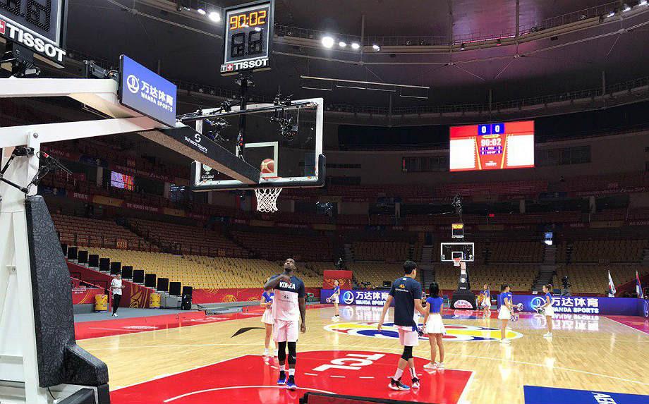 Чемпионат мира по баскетболу-2019. Южная Корея — Россия. Арена «Ухань Гимназиум»