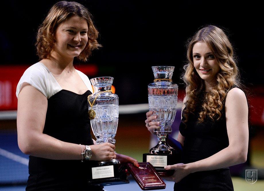 Динара Сафина и Анна Чакветадзе