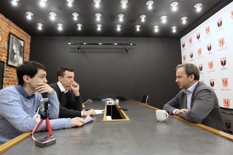 Григорий Телингатер, Дмитрий Егоров и Аркадий Дворкович