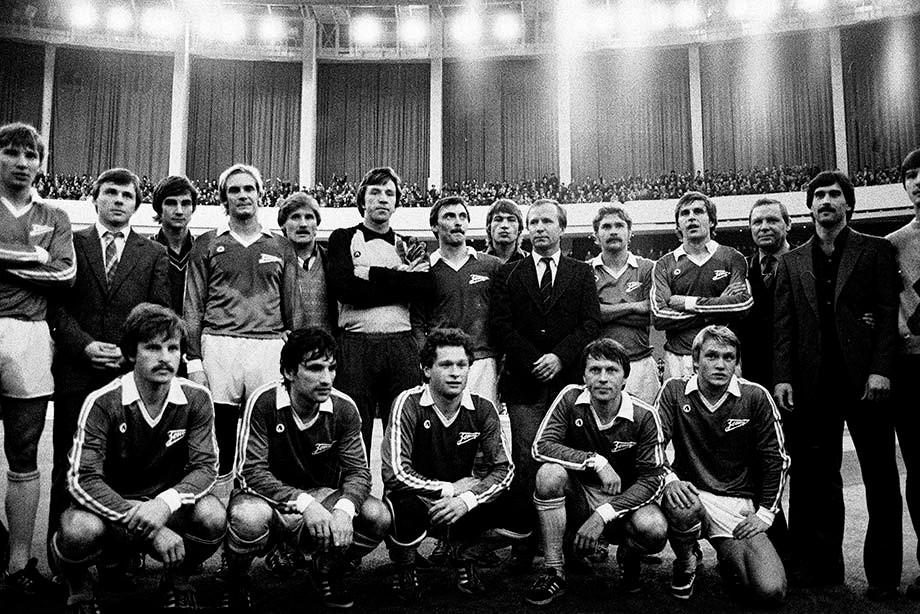 Золотой «Зенит»-1984. Брошин — крайний справа в нижнем ряду