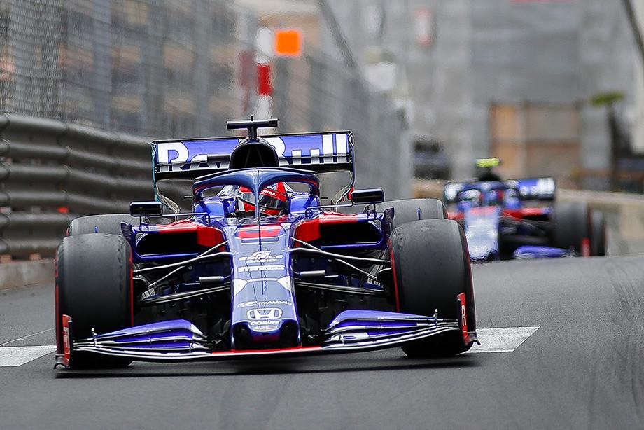 Гран-при Монако Формулы-1: Квят впереди Албона