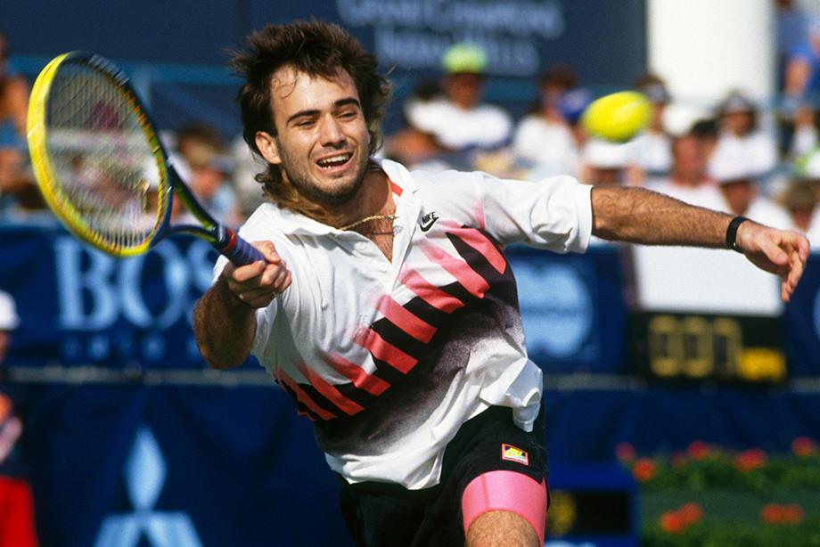 Как выглядел Андре Агасси в 90-х, его стиль возвращается на US Open
