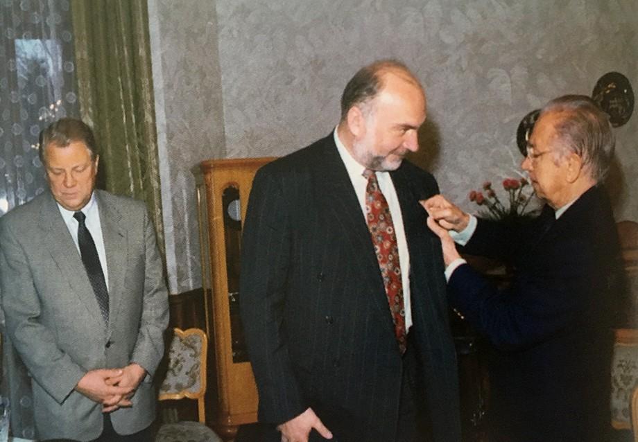 Александр Козловский и Хуан Антонио Самаранч
