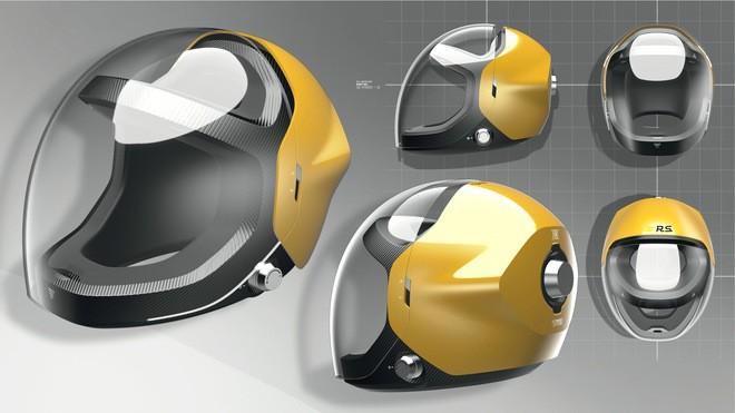 Шлем будущего по версии «Рено»