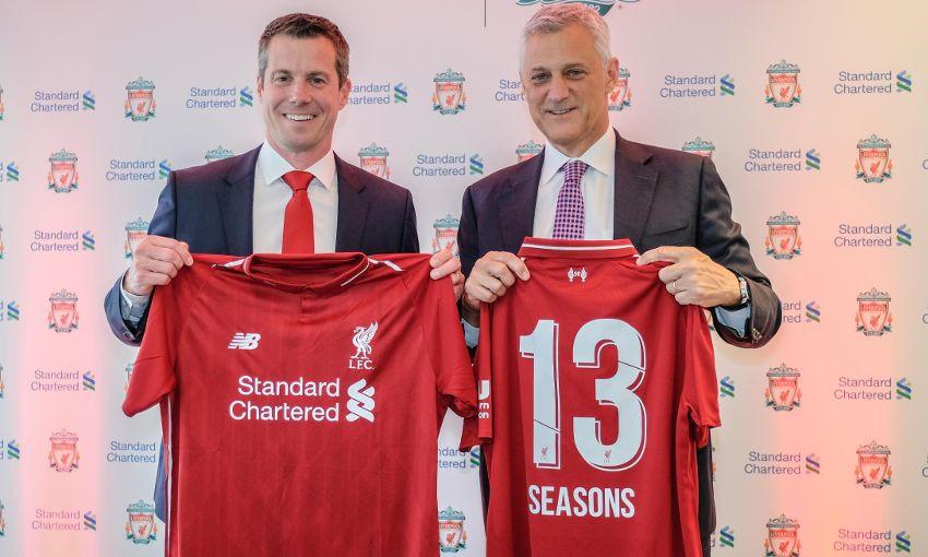 «Ливерпуль» объявил о продлении контракта с титульным спонсором