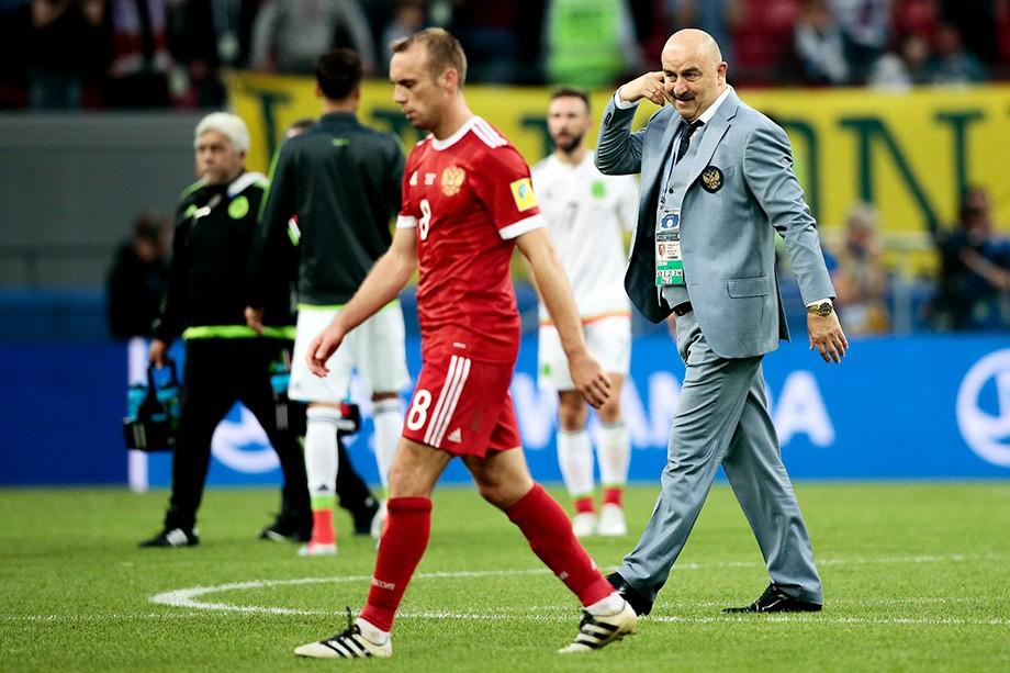 Денис Глушаков и Станислав Черчесов