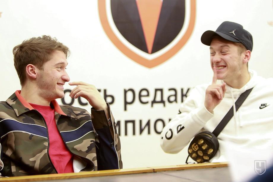 Алексей и Антон Миранчуки в гостях у «Чемпионата»