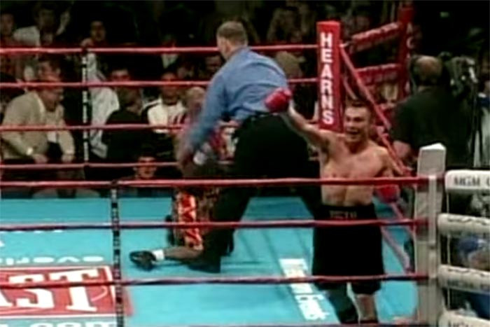 Костя Цзю – первый абсолютный чемпион мира по боксу из России
