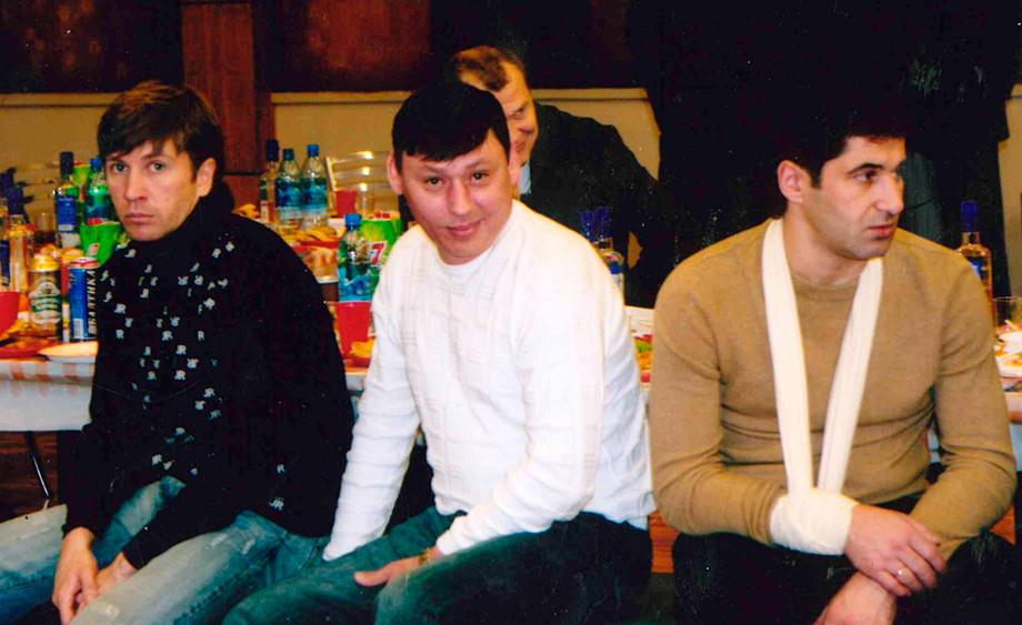 Валерий Кечинов, Илья Цымбаларь и Рамиз Мамедов