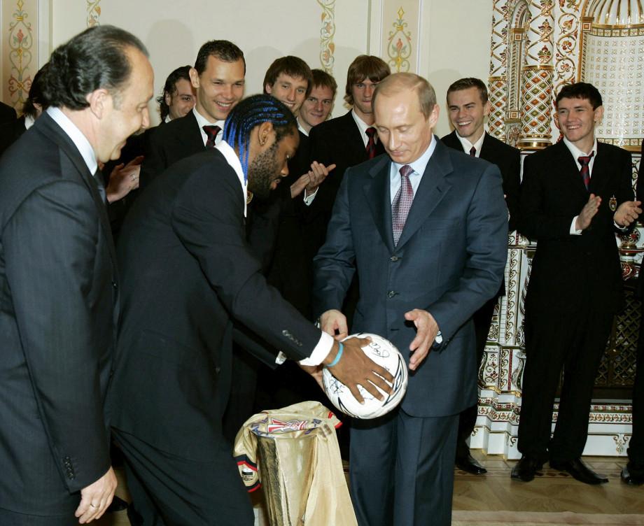 Вагнер Лав и Владимир Путин: техника чеканки