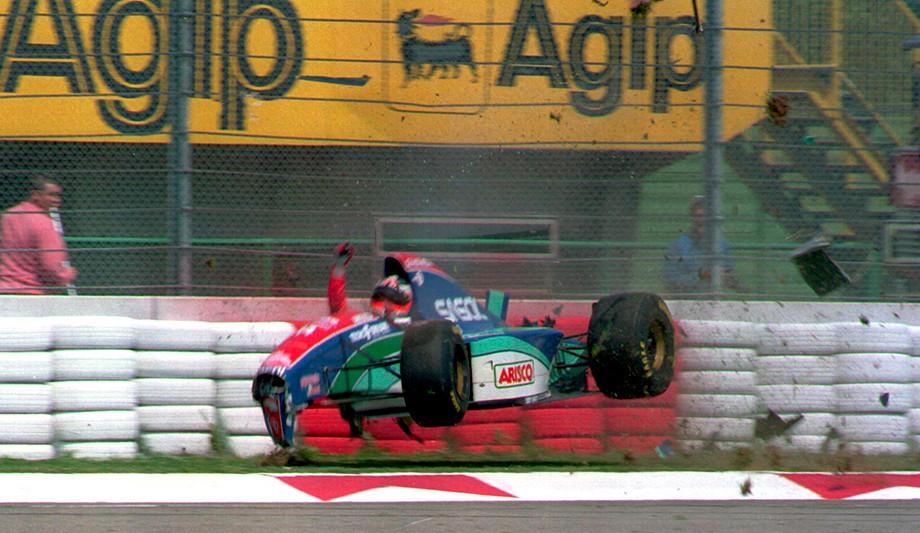 Авария Рубенса Баррикелло в 1994 году
