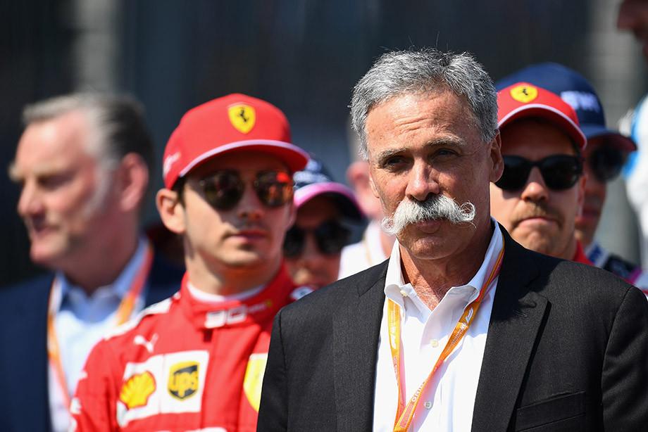 Исполнительный директор Formula One Group Чейз Кэри