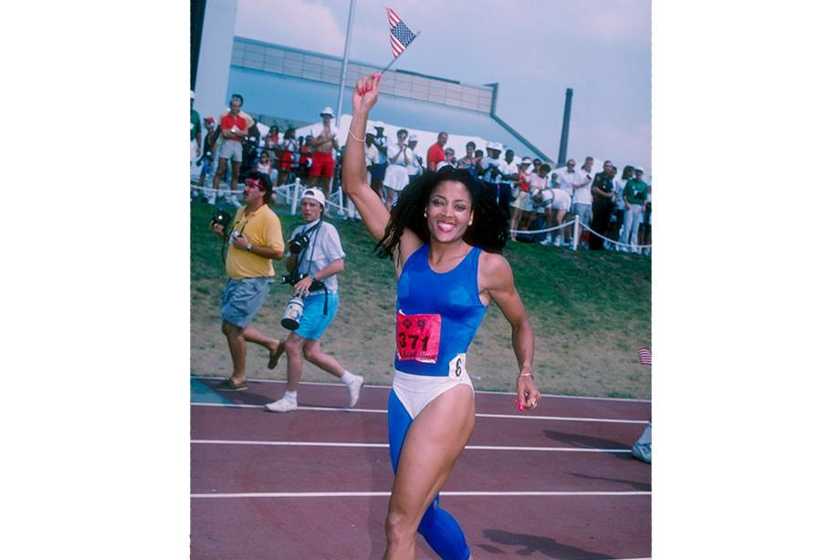 «Меня вдохновила легкоатлетка Флоренс Гриффит-Джойнер». Что за странный наряд у Серены?