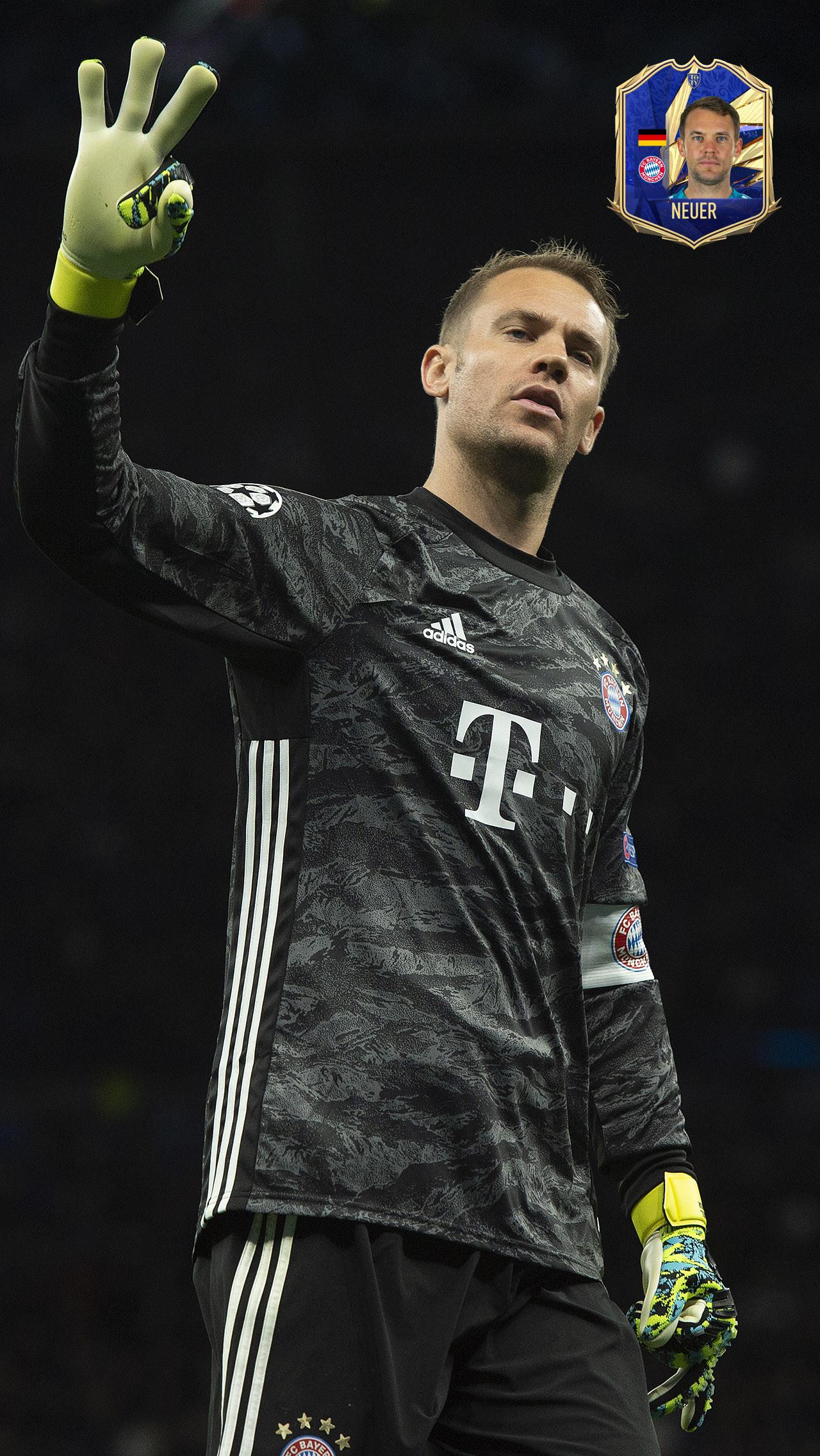 Вратарь: Мануэль Нойер («Бавария»)