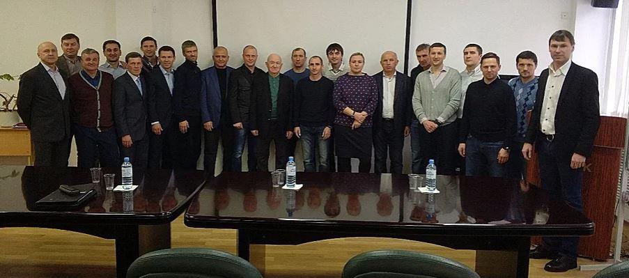 Титов, Зырянов и Семшов стали обладателями тренерской лицензии «А» УЕФА