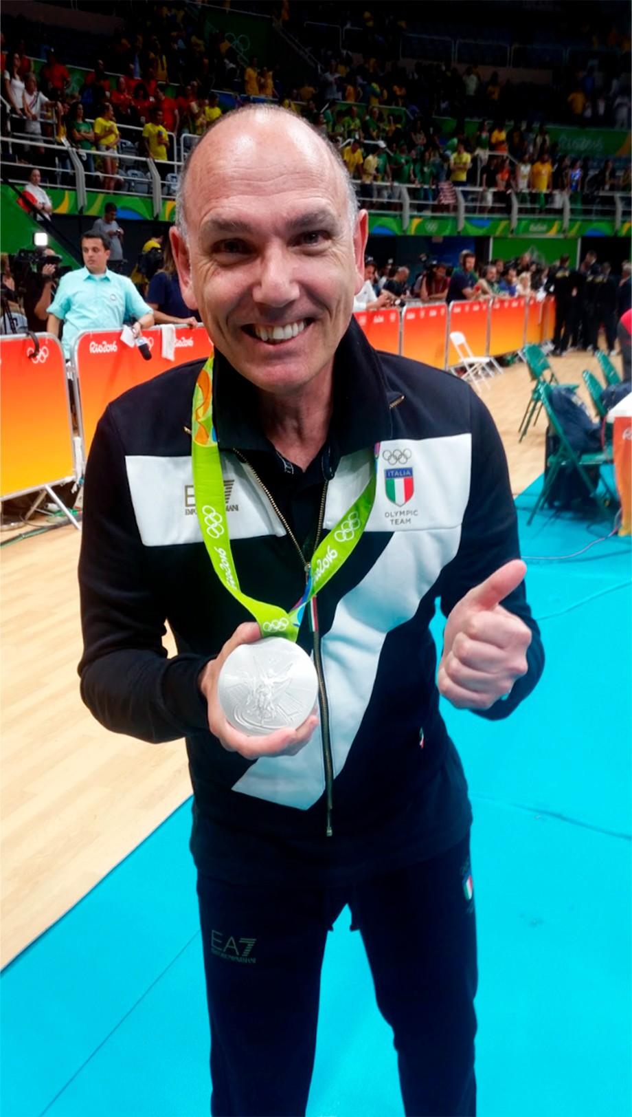 Олимпийское волейбольное серебро Джорджо Д'Урбано