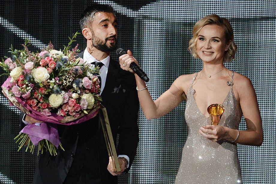 Самедов вручил Полине Гагарине «Золотой граммофон»