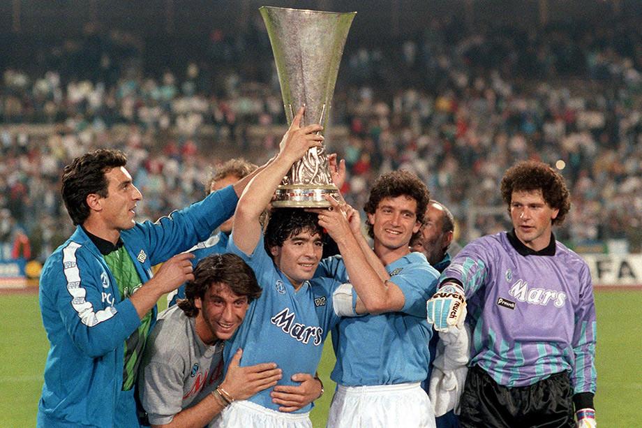 Диего Марадона: легендарная разминка аргентинца – «Чемпионат»