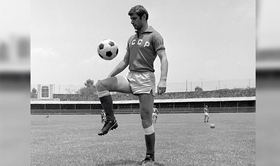Гол Анатолия Бышовца, видео, СССР — Бельгия — 4:1, чемпионат мира — 1970